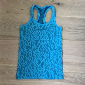 Lululemon Seawheeze Run Swiftly Tank
